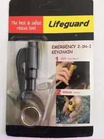 Chaveiro Corta Cinto Emergência Resgate Salva Vidas Quebra