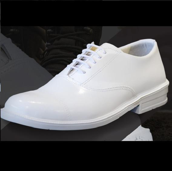 Sapato Branco Militar Atalaia