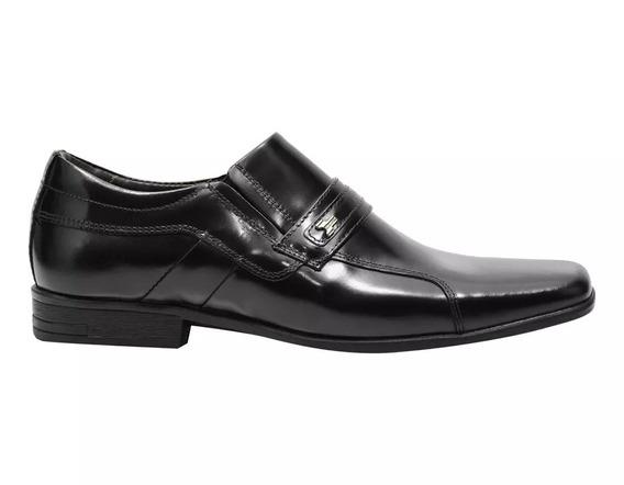 Sapato Social Masculino 100% Em Couro Legítimo Verniz