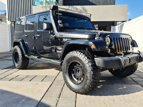 Jeep Wrangler Unlimited Sahara 4x4 3.6l V6 284hp 2014