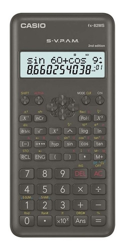 Calculadora Cientifica Casio Fx-82ms Relojesymas