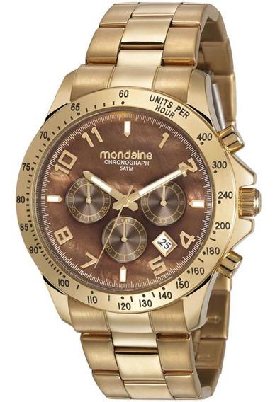 Relógio Feminino Mondaine 78754lpmvds3 Dourado