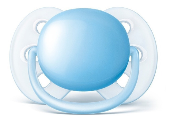 Chupeta Avent Ultra Soft Azul (single) 0-6 Meses