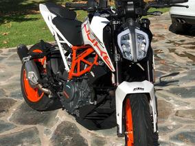 Ktm Duke 390 Blanca Excelente Estado Incluye Sistema My Ride