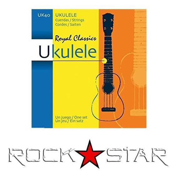 Set De Cuerdas Royal Classics Para Ukulele / Ukelele