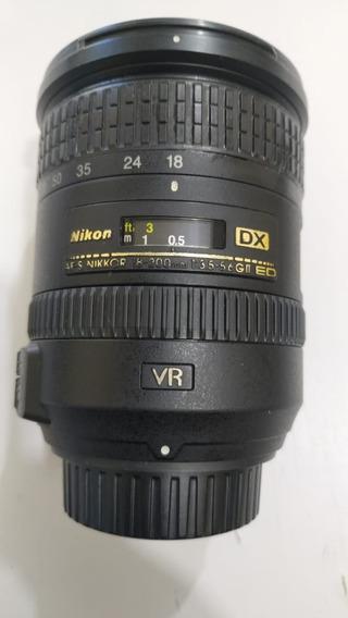 Lente Nikon Nikkor Af-s 18-200 F/3.5-5.6g -ll Ed Vr