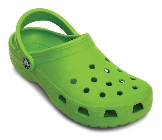 Crocs Original Classic Verde Mazana Kids | Nena - Nene