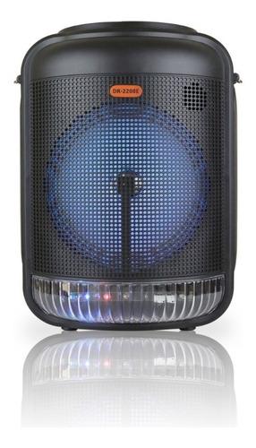 Bocina Amplificada 8 Pulgadas Bluetooth 4500w Usb Aux Fm
