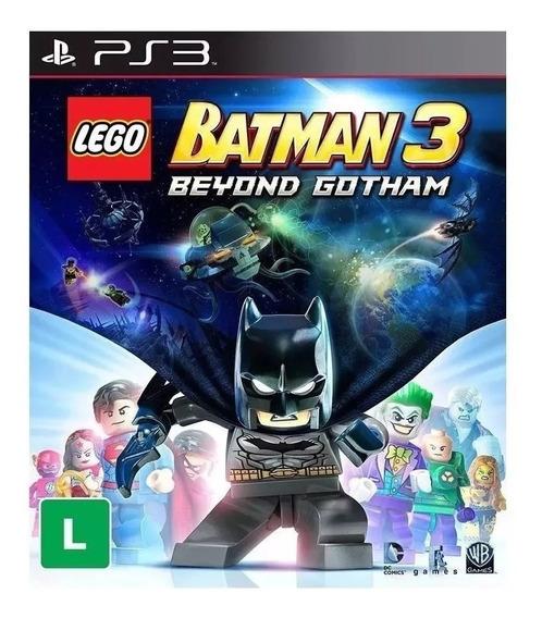 Lego Batman 3 Lego 3 Original Ps3 Psn Envio Agora