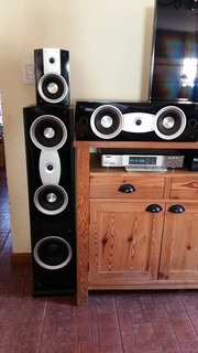 Home Teather 5.1 Mas 1 Marca Feather M-998a Ecxelente Sonido