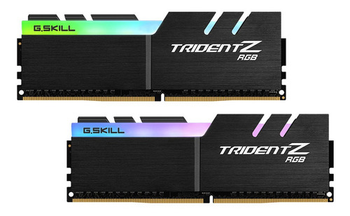 Memória Ram Trident Z Rgb 16gb 2x8gb Ddr4 3000 Gamer