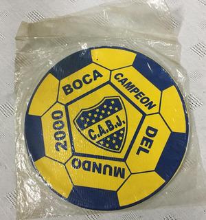 Boca Jrs. -pad Mouse- Campeon Del Mundo 2000.