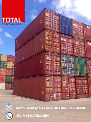 Contenedores Maritimos Usados Containers 40
