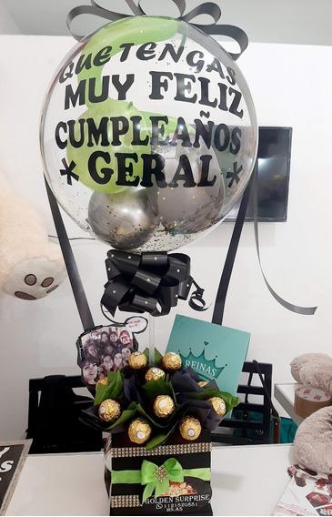 Regalo Sorpresa De Cumpleaños Para Hombre Domicilio Hermoso