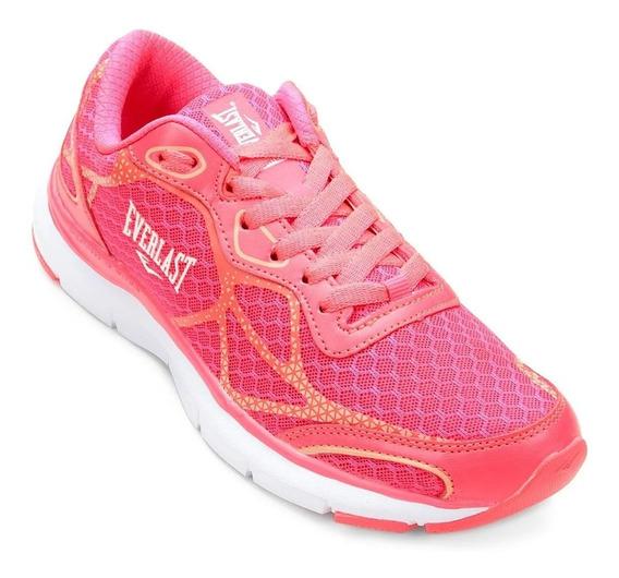 Zapatillas Everlast Hunter Mujer Running Fitness - Olivos