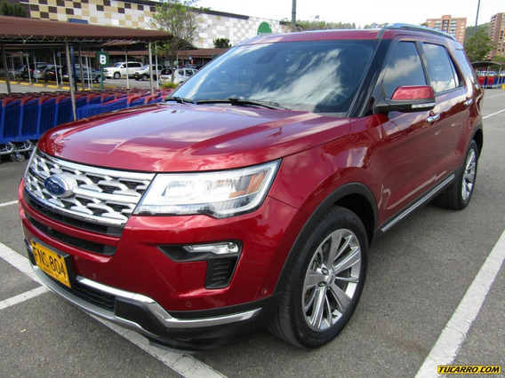 Ford Explorer Limited Tp 2260cc Aa 4x4 Ct 7p