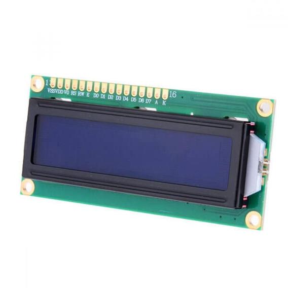 10x Display Tela Lcd 16x2 1602 Backlight Azul Arduino