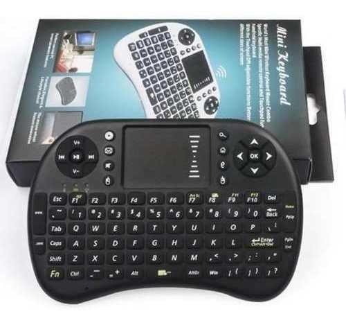 Teclado Mouse Wireless Led Touch Para Pc Tv Xbox Ps3 Netflix