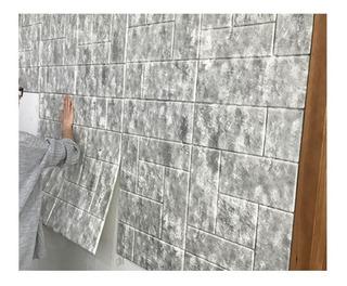 Panel 3d Liviano Autoadhesivo - Pared 3d -imitacion Ceramica