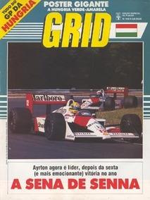 Grid 949-a - Edição Especial Placar - Pôster Gp Hungria 1988