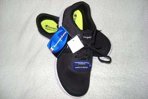 Zapatos Deportivos Champion Color Negro Caballero # 40