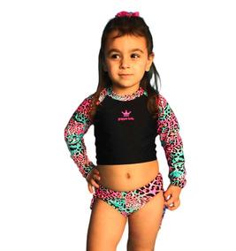 Biquini Infantil Cropped Proteção Solar Uv Grappin Promoção!