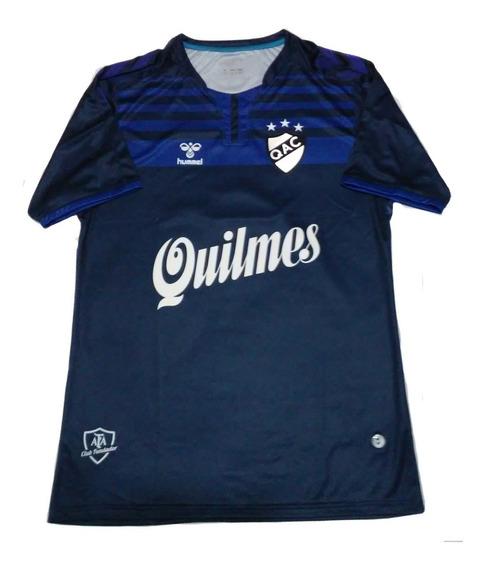 Camiseta De Quilmes 2019 Hummel Con Numero Talle L