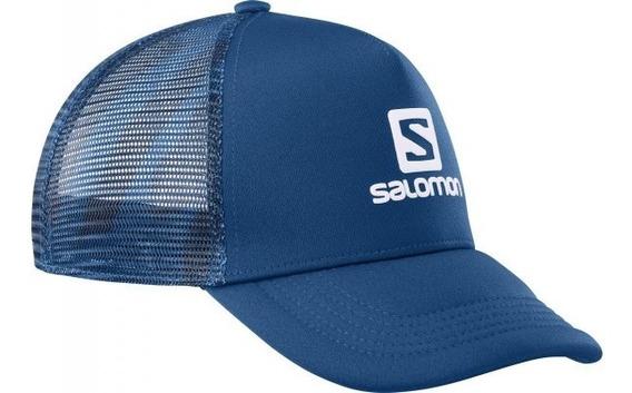 Gorra Salomon Summer Logo Cap Hombre Blue Running