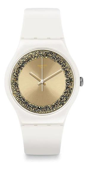 Reloj Swatch Mujer Sparklelightening Suow168 Envío Gratis