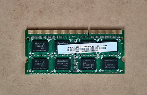 Memória 4 Gb Ddr3 1333 Mhz 4 Gb Pc3 10600s - Apotop Bric