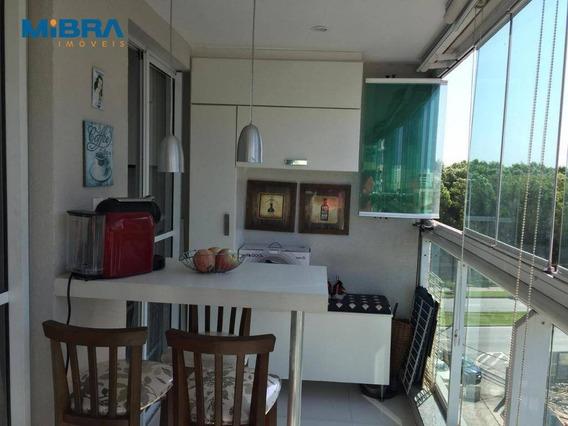 Apartamento Com 3 Quartos À Venda, 74 M² Por R$ 550.000 - Jardim Camburi - Vitória/es - Ap1530