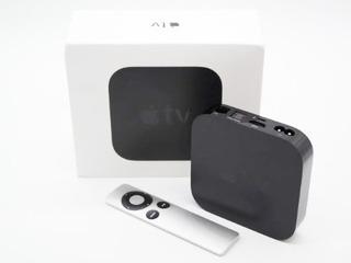 Apple Tv 3ra Generacion Impecable Con Caja Y Accesorios