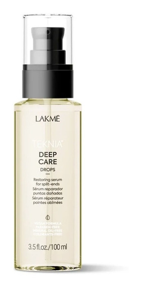 Reparador De Puntas Drops X100ml Lakme Deep Care Serum