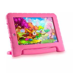 Tablet Multilaser Kid Pad Plus Rosa Quadcore 8 Gb Nb279