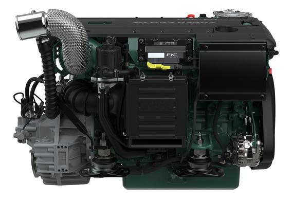 Motor Diesel Volvo Penta D4 300hp + Reversor P/ Barco Lancha