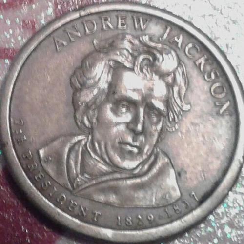 Moneda 1.00 $ De Andrew Jackson