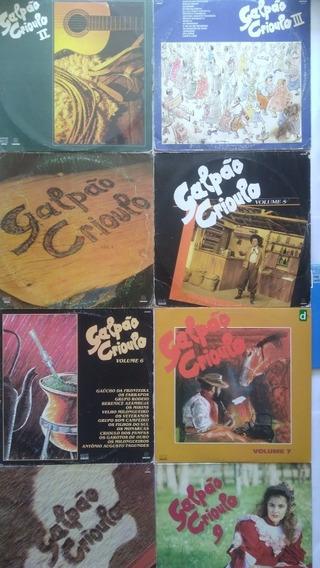 8 Lps Galpão Crioulo Vol 2 3 4 5 6 7 8 9 Frete Grátis