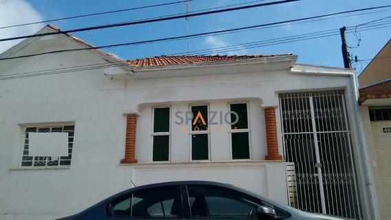 Casa Comercial Para Locação, Centro, Rio Claro. - Ca0154