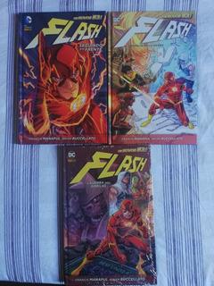 Kit Hq Flash Novos 52, 3 Volumes