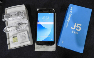 Samsung J5 Pro 32gb + Sd 32gb Impecável