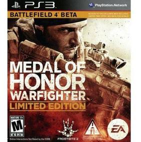 Medalha De Honra Warfighter Ps3 Psn Envio Na Hora Promoção