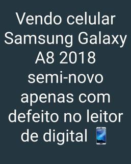 Celular Samsung Galaxy A8 2018 64 Gb