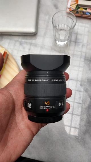 Panasonic Leica Dg Macro 45mm F/2.8 Asph. Mega O.i.s Mft