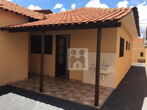 Imagem 1 de 13 de Casa Com 2 Dormitórios À Venda, 74 M² Por R$ 170.000 - Jardim Diva Tarlá De Carvalho - Ribeirão Preto/sp - Ca0442