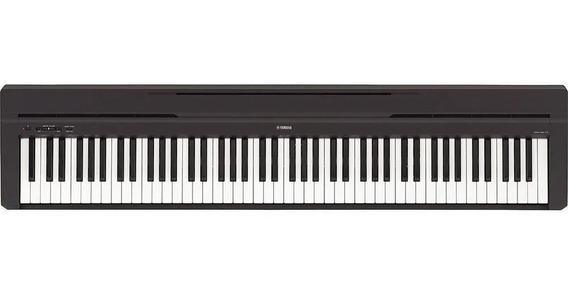 Piano Digital Yamaha P45b Compacto Com 88 Teclas