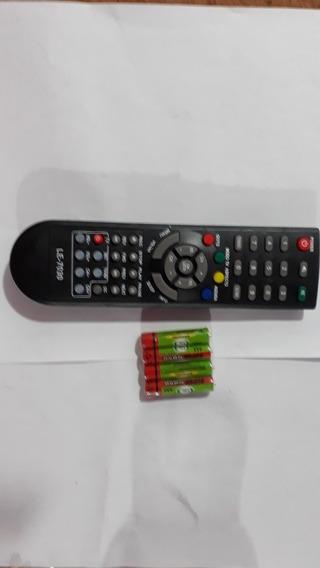 Controle Remoto Barato Receptor Midia Box Mais 4 Pilhas