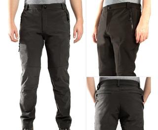 Pantalón Softshell Hombre Impermeable Térmico