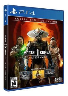 Mortal Kombat 11: Aftermath Kollection Standard Edition Ps4