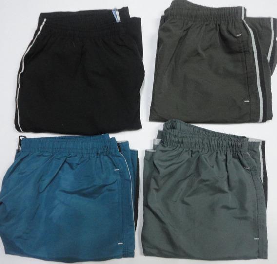 Kit 5 Bermudas Tactel Masculinas Plus Size Top Verão Atacado