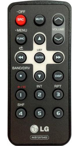 Imagem 1 de 1 de Controle Remoto Para Som Automotivo LG Akb72975402